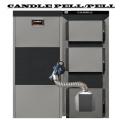 Котел CANDLE PELL/PELL 100 кВТ традиційного горіння з автоматичною подачею палива