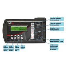 Контролер для твердопаливного котла + zPID  ST 81 zPID Tech controllers