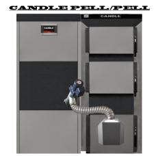 Котел CANDLE PELL/PELL 46 кВТ традиційного горіння з автоматичною подачею палива